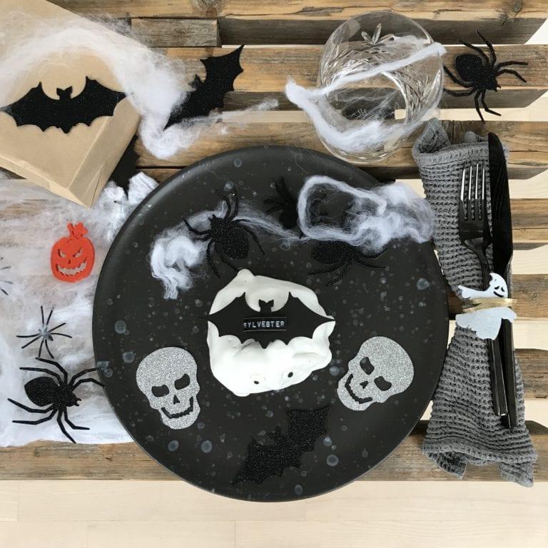 Halloweenpynt hjemmelavet pynt