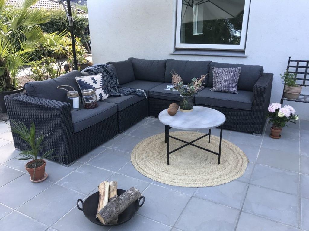 Picture of: Min Nye Terrasse Og Lounge Sofa Sabinas Verden