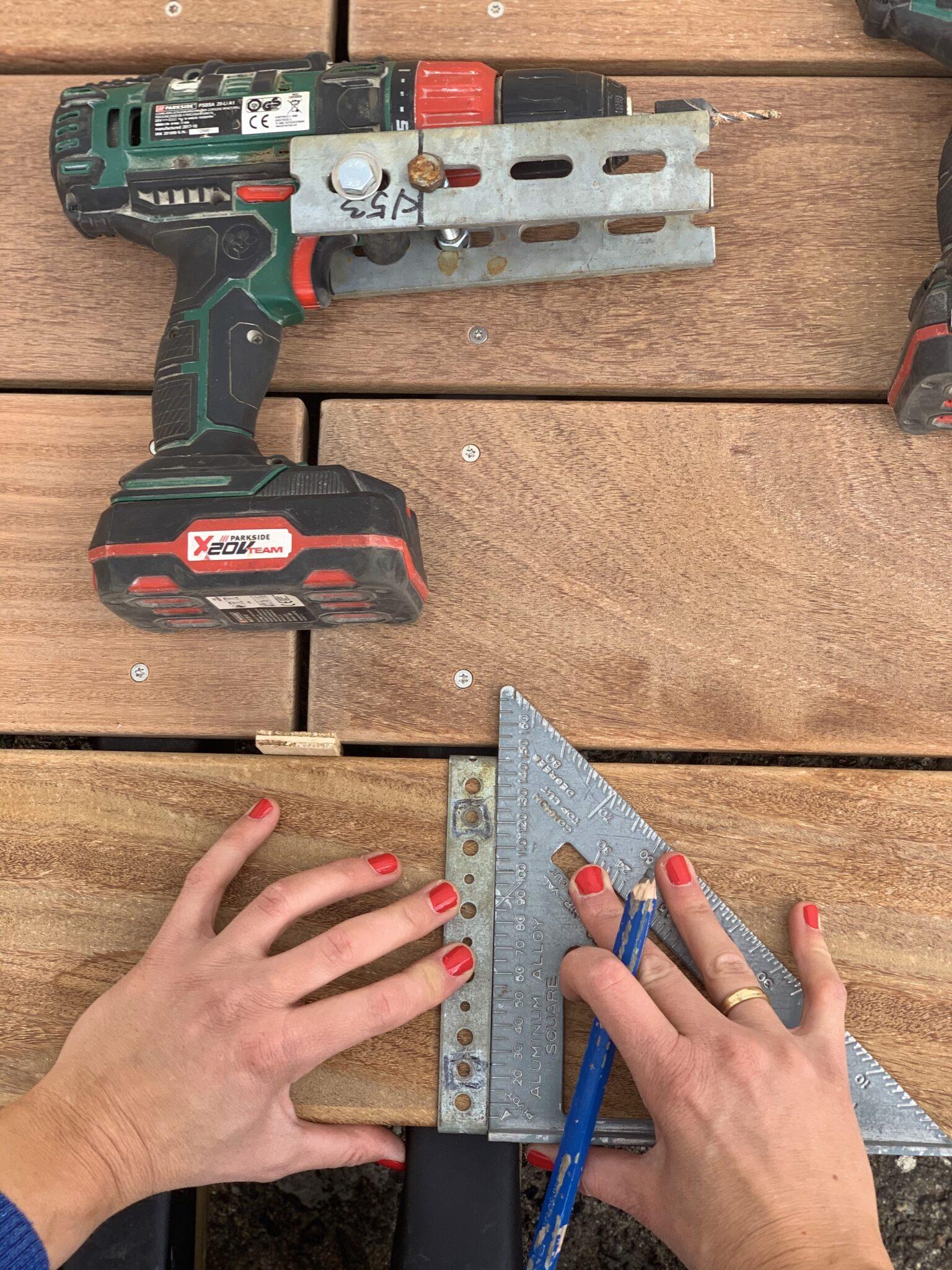 Byg en træterrasse - sådan gør du